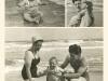 עם אמא ואבא בים